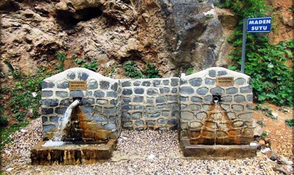 Giresun'da Uzun Yaşamın Etkenlerinden Biri Olan Maden Suyu Çeşmeleri Yeniden Düzenleniyor
