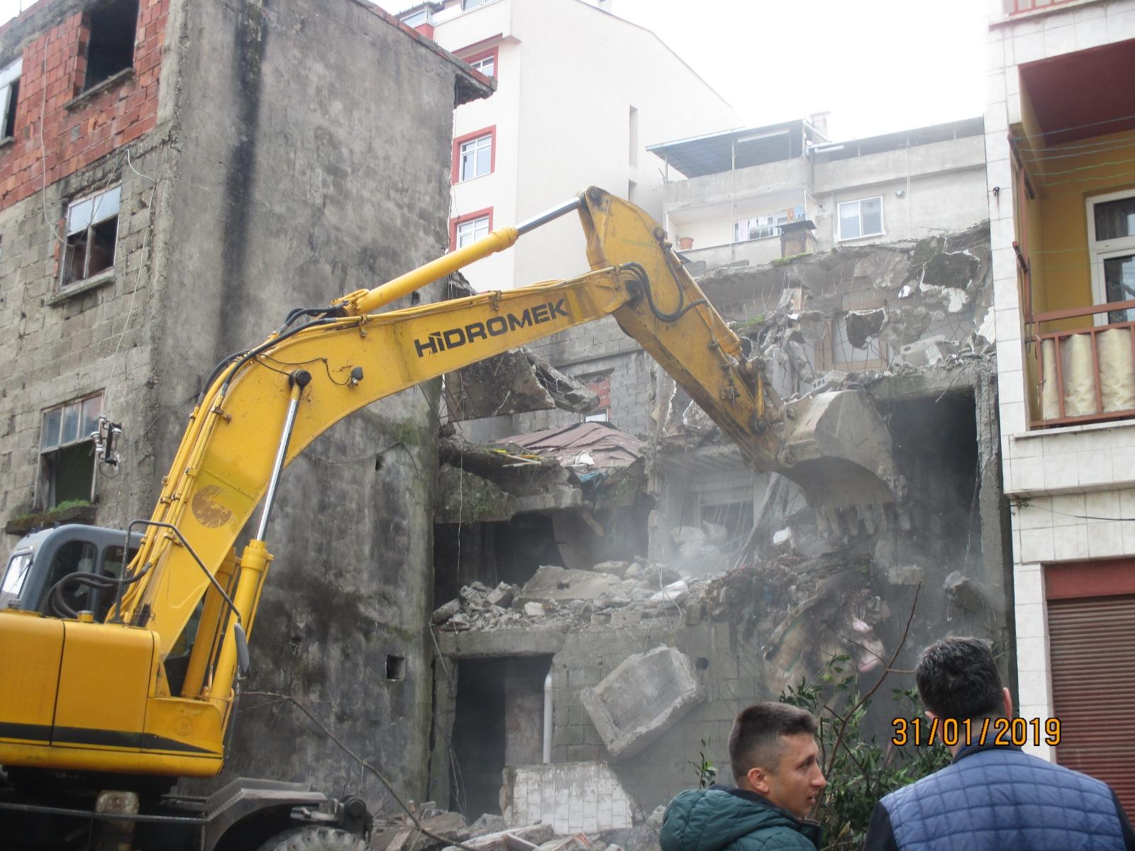 İl Genelinde 86 Metruk Binaya İşlem Yapıldı